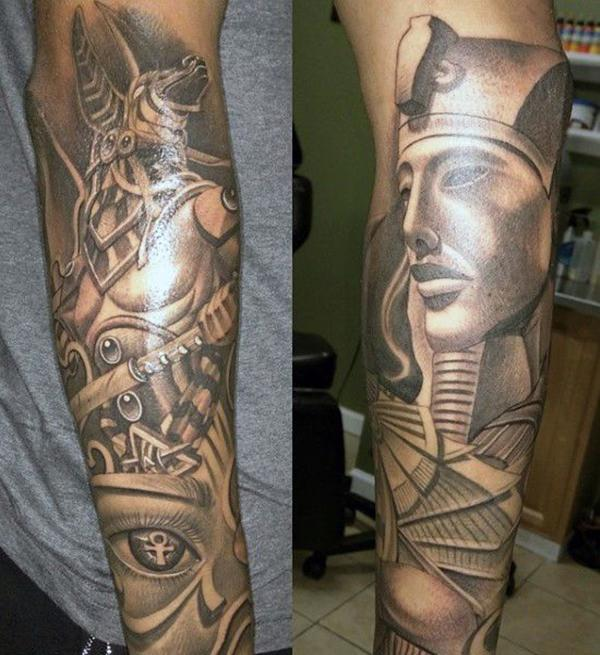 80 Mysterious Egyptian Tattoos For Those Fascinated By Mythology
