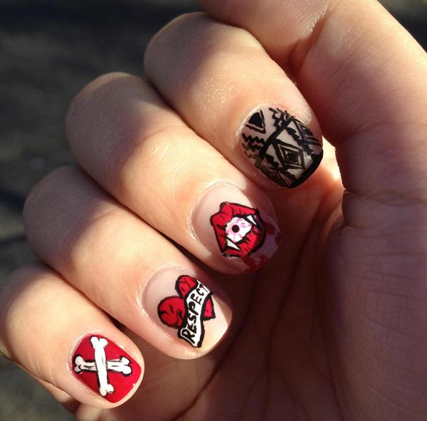 CUTE NAILS ZARIAS (60)