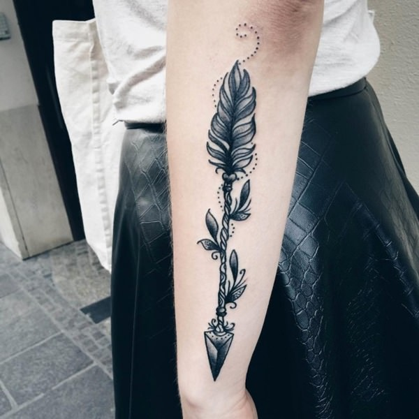 arrow tattoos for men women zarias (18)