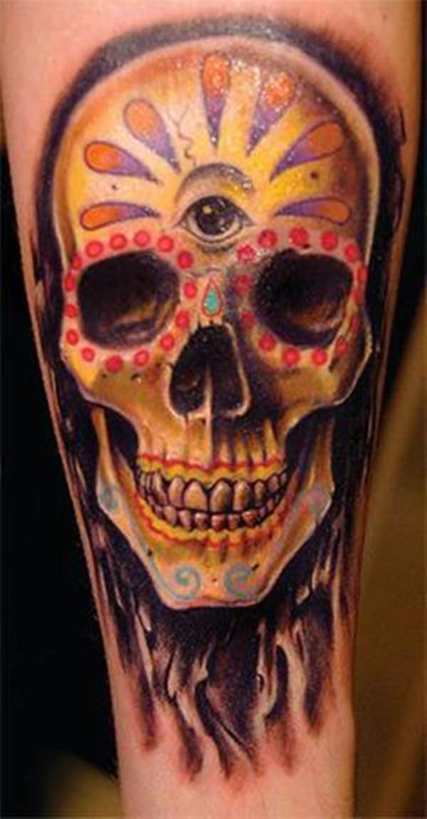 day of the dead tattoos 25