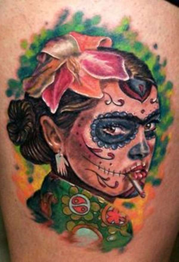 day of the dead tattoos 26