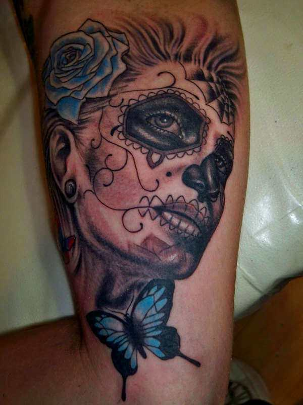 day of the dead tattoos 50