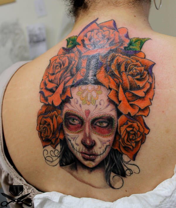 day of the dead tattoos 53