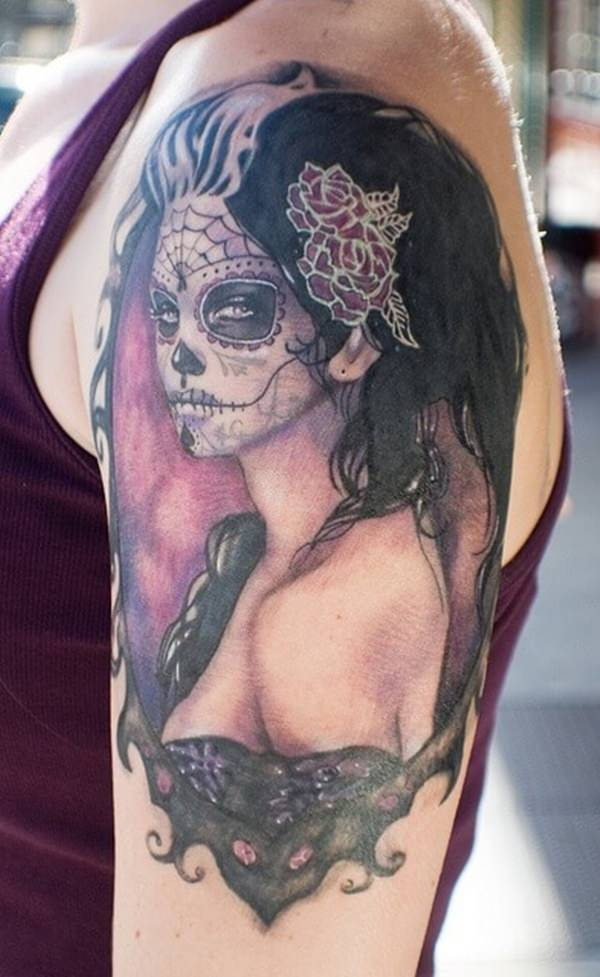 day of the dead tattoos 54