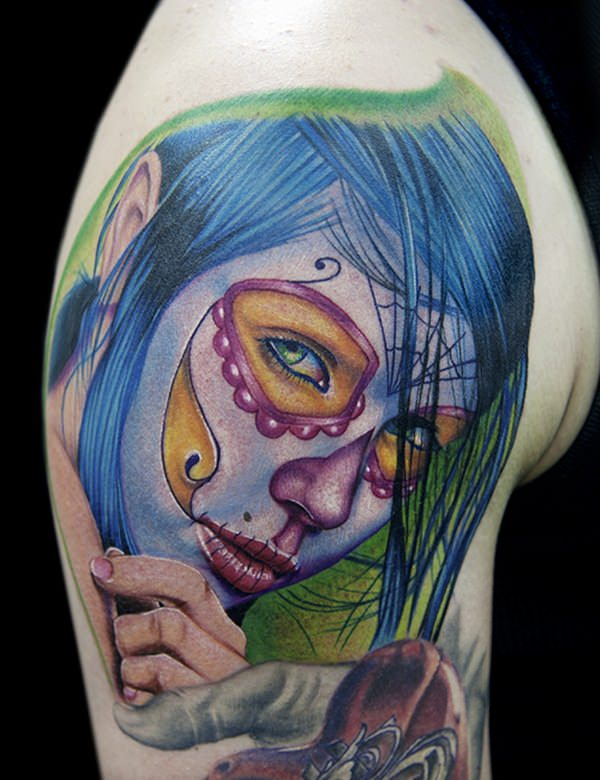 day of the dead tattoos 55
