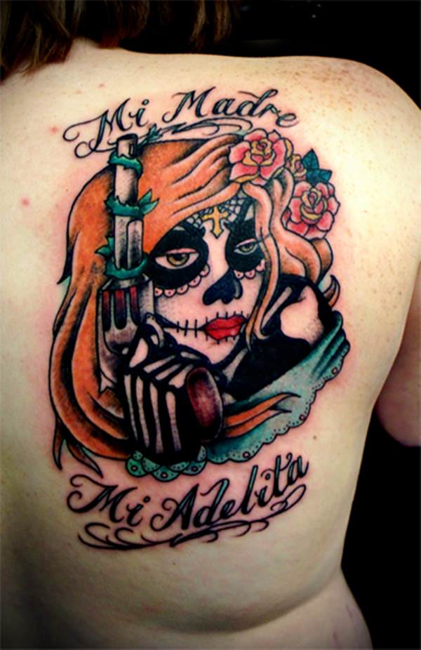 day of the dead tattoos 58