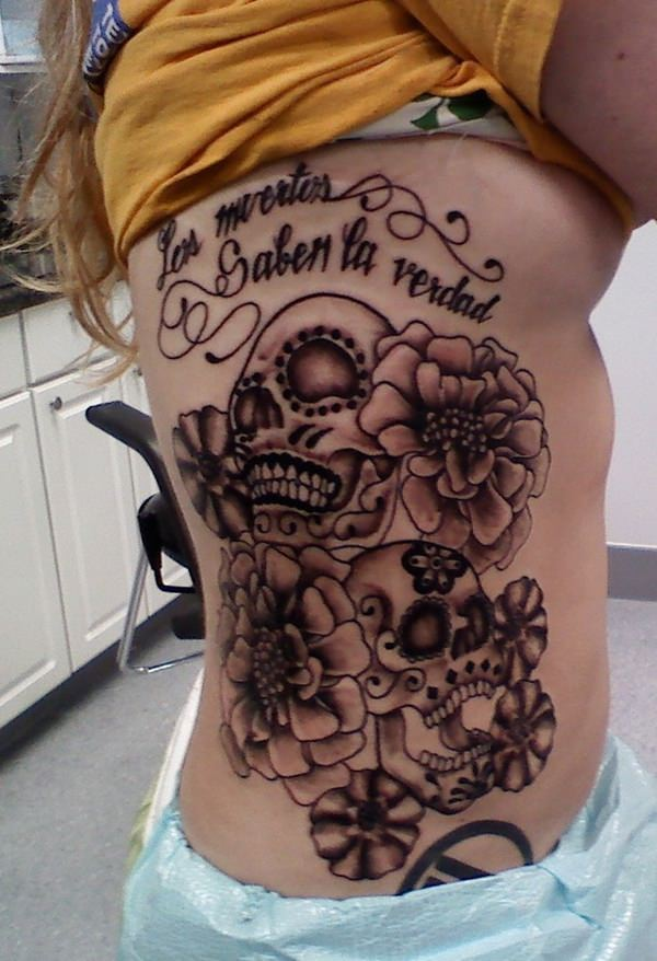 day of the dead tattoos 60