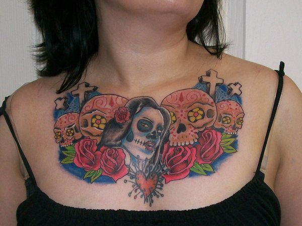 day of the dead tattoos 61