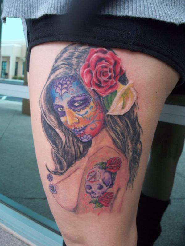 day of the dead tattoos 64