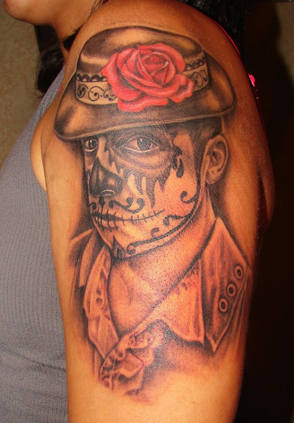 day of the dead tattoos 65