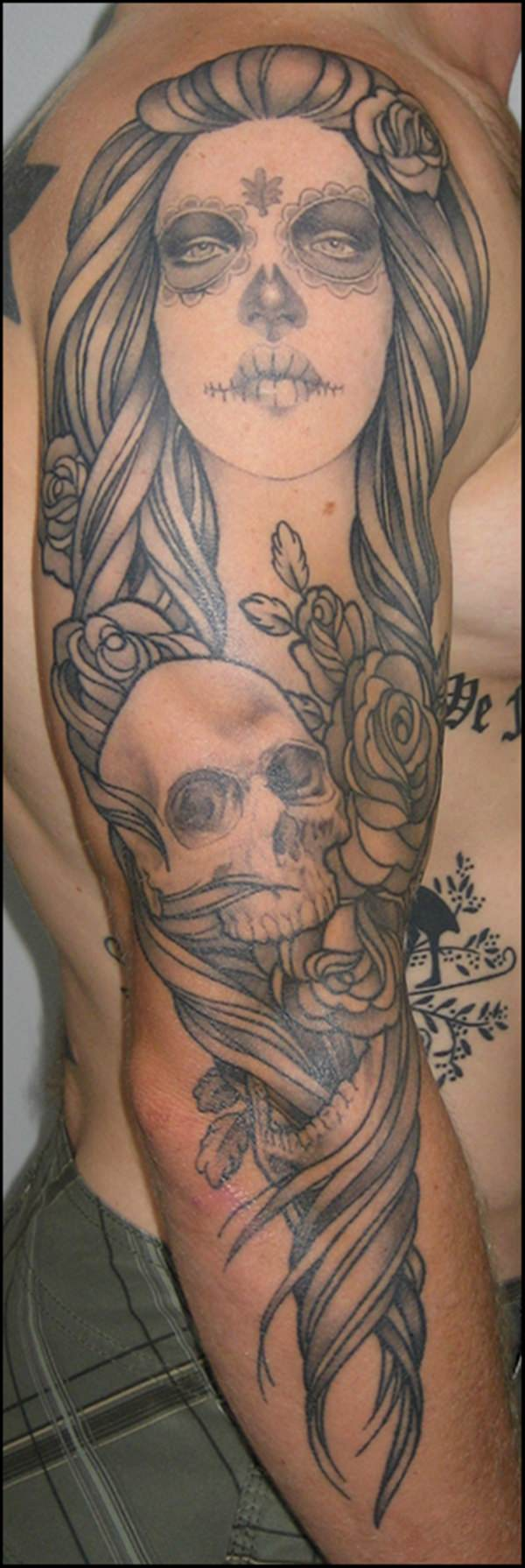 day of the dead tattoos 66