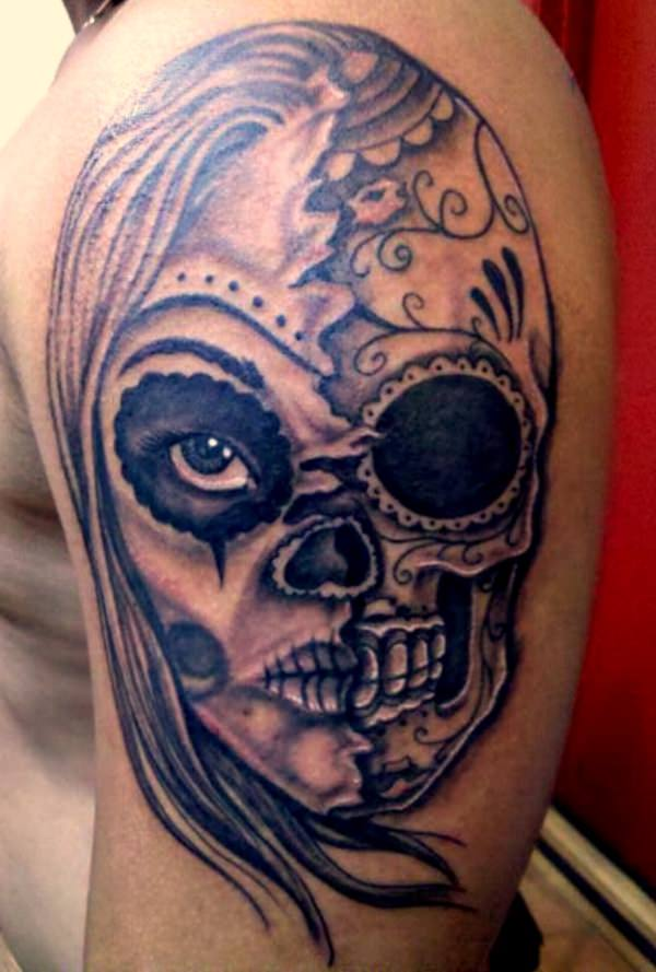 day of the dead tattoos 67