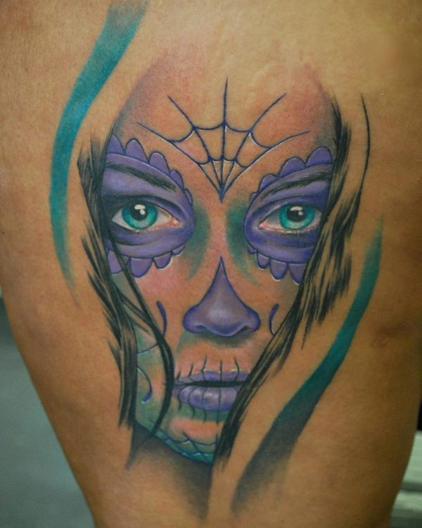 day of the dead tattoos 69