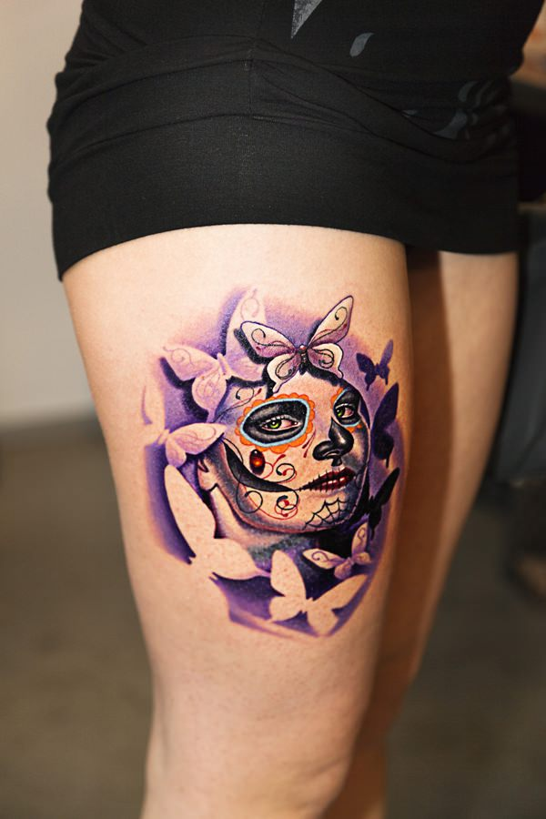 day of the dead tattoos 7