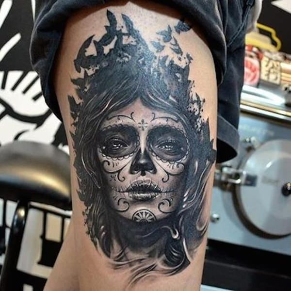 day of the dead tattoos 71