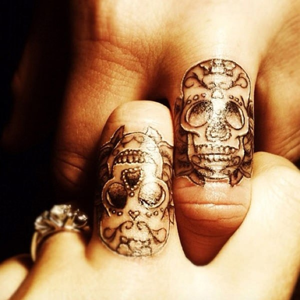 day of the dead tattoos 74