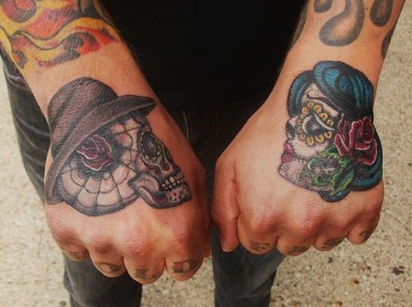 day of the dead tattoos 76
