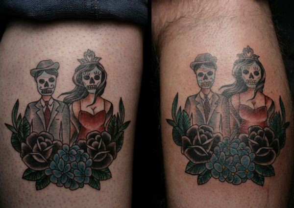 day of the dead tattoos 79