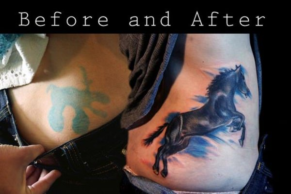 740c95432 55 Cover Up Tattoos: Impressive Before & After Photos
