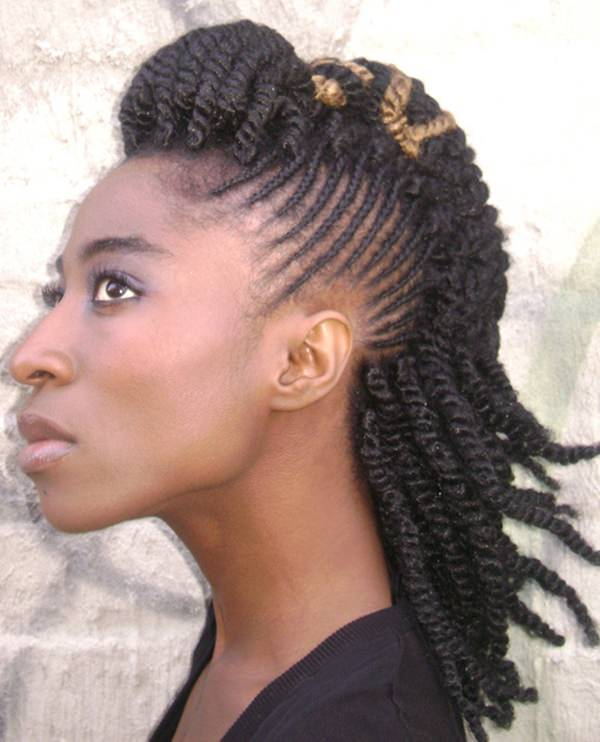 57 Pics of Kinky Twist 'Dos for Various Events & Vogues
