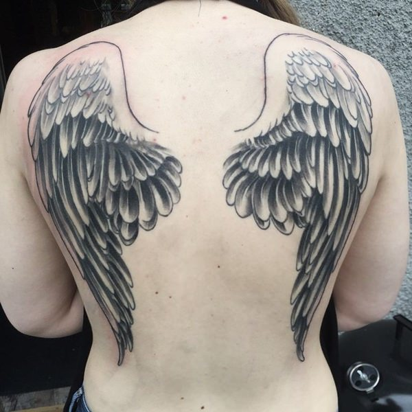 54 photos of sexy angel wing tattoos 51901161302 angel wings tattoos urmus Gallery