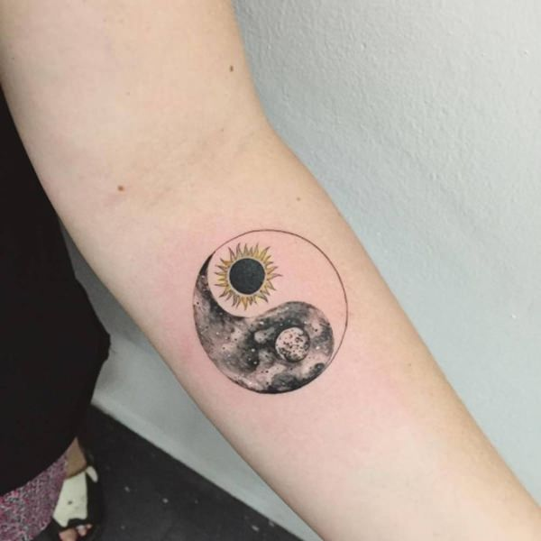 77 sun and moon tattoo ideas for ink lovers everywhere for Sun tattoos pictures
