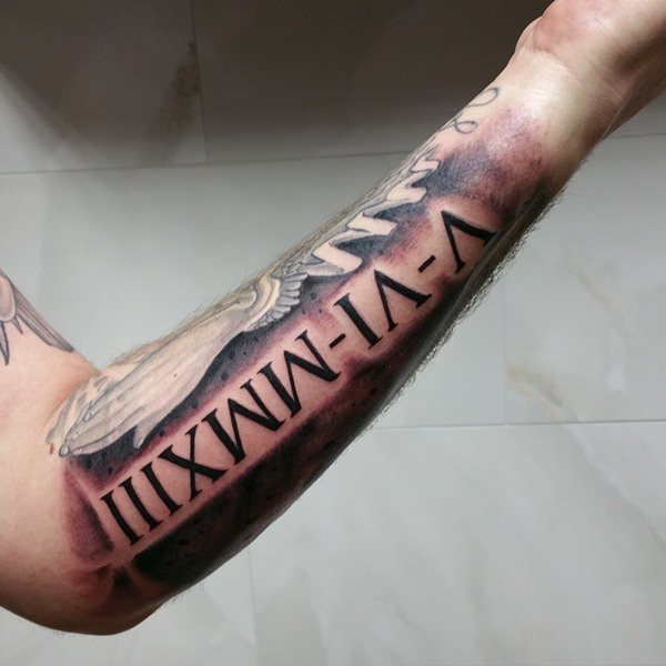 70+ Roman Numeral Tattoos Ink Lovers Will Drool Over