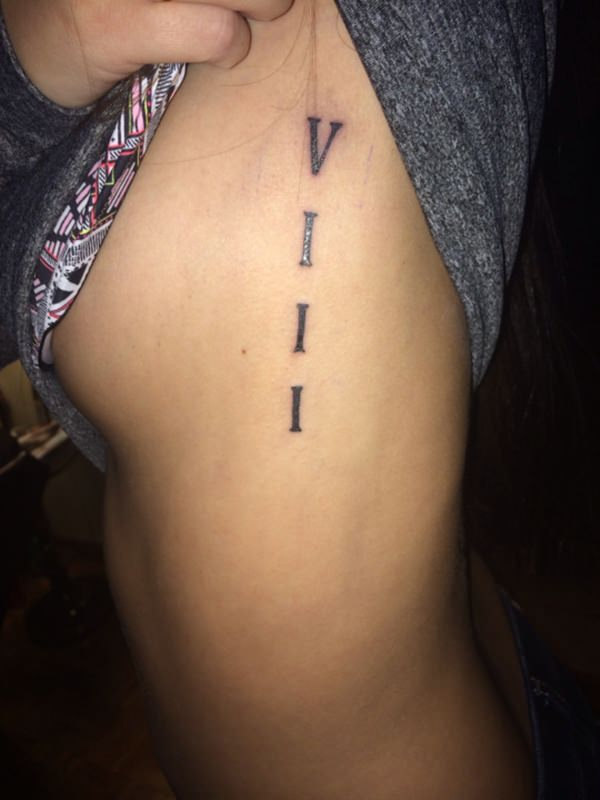 70 Roman Numeral Tattoos Ink Lovers Will Drool Over